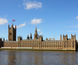 Palácio de Westminster em londres