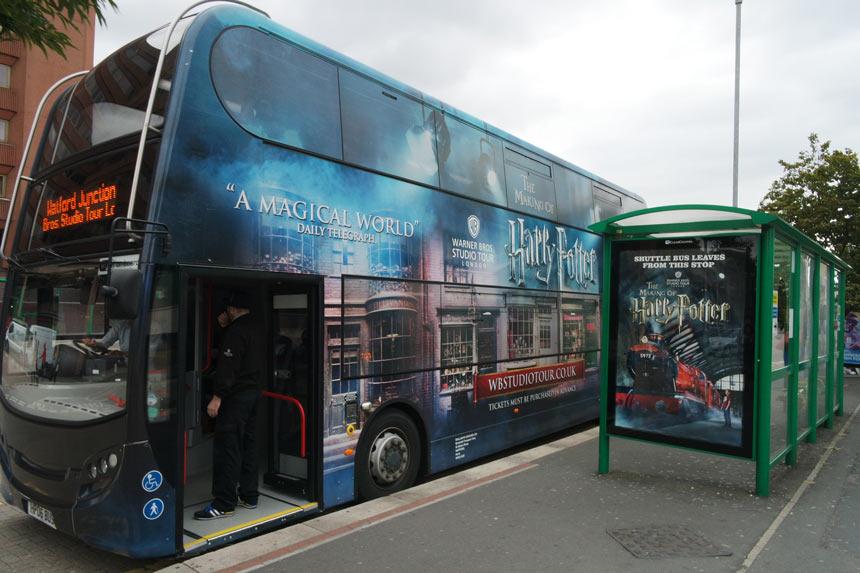 Estudios Warner Bross em Londres- Estrela Tour
