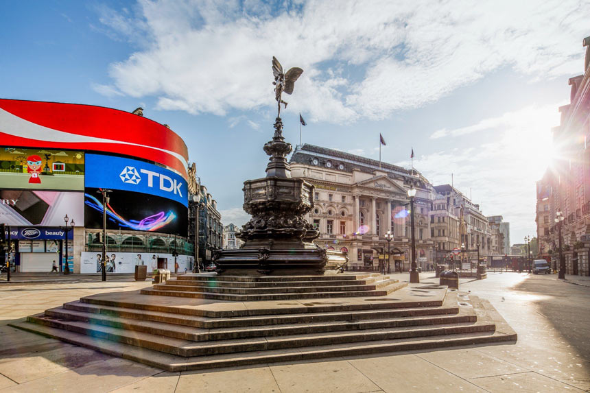 Harry Potter em Londres | Piccadilly Circus- - Estrela Tour