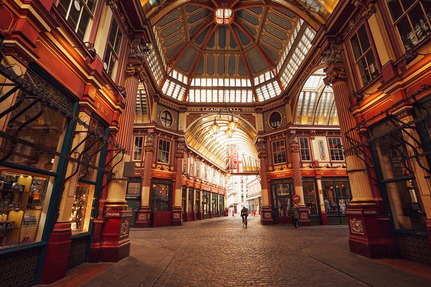 Harry Potter em Londres | Leadenhall Market - Estrela Tour