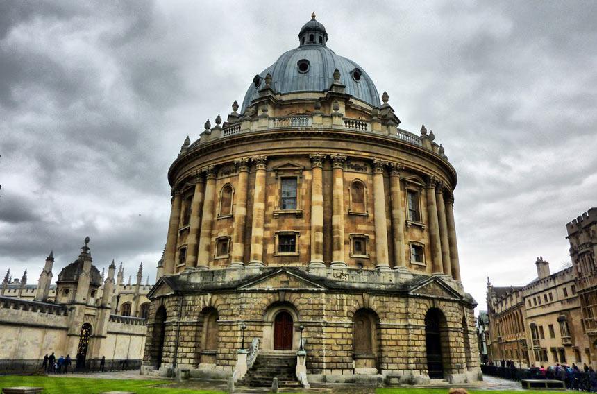 Oxford - Câmara Radcliffe - Estrela Tour