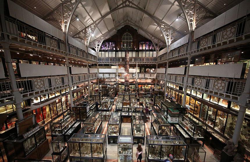 Oxford - Museu Pitt Rivers - Estrela Tour