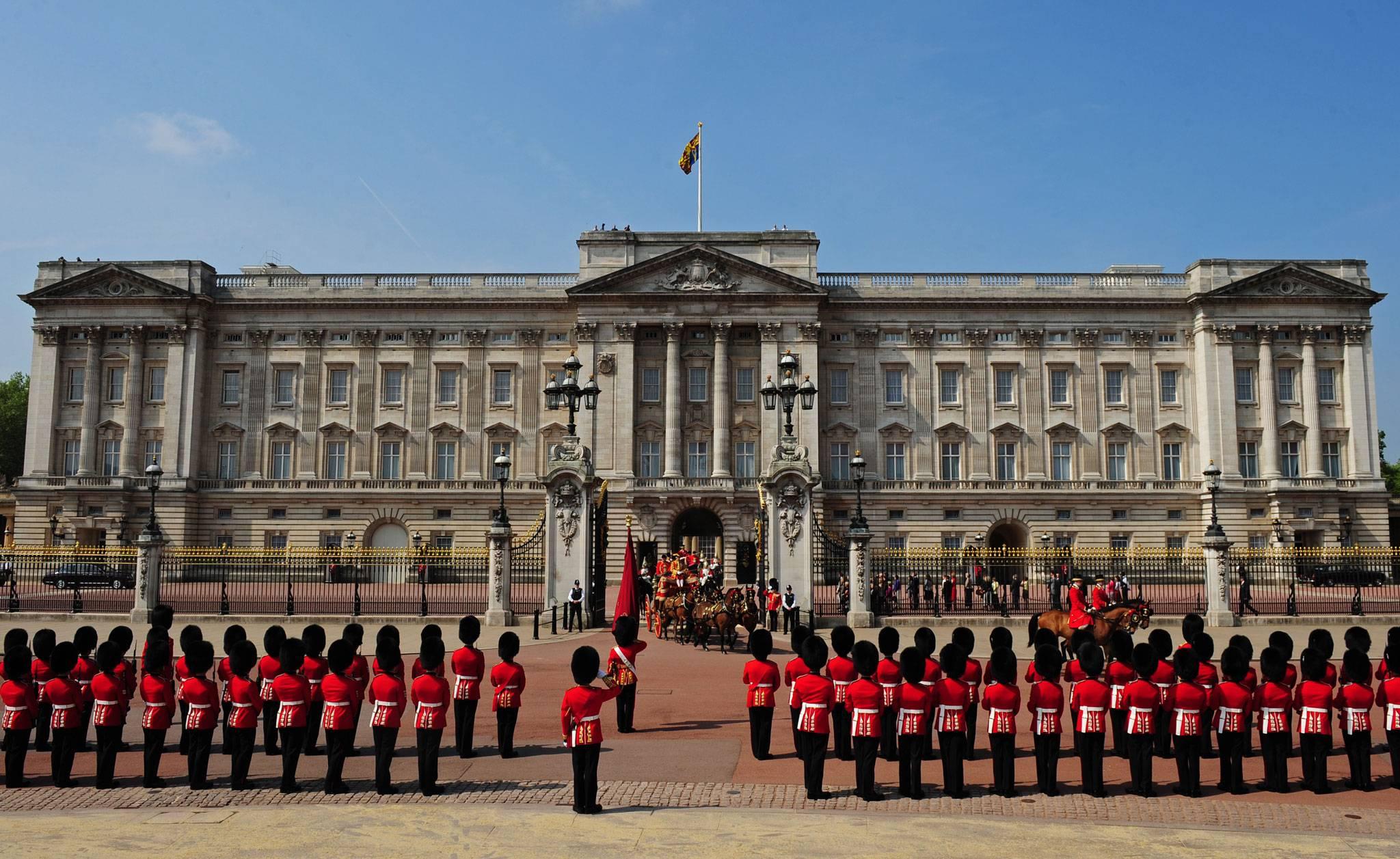 celebrações em Buckingham