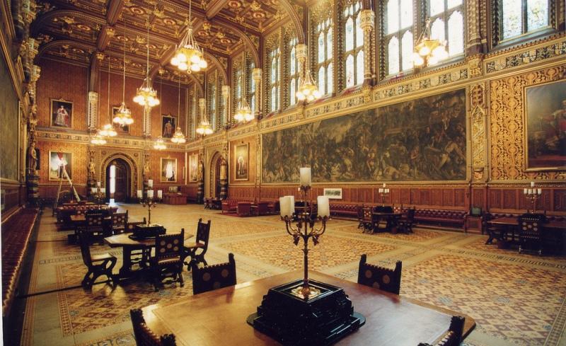 palacio westminster dentro